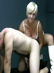 A teasing hand job