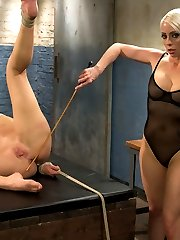Darling returns for a very intense lesbian BDSM experience with Lorelei Lee including lesbian...