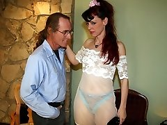 Domestic submissive punished