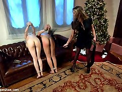 Ashley Jane and Sasha Yung are two frightened little slaves who spend a painful Christmas with...