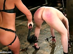 In this classic archive shoot Dana DeArmond proves that she can take anything Sandra Romain can dish out.  This shoot is very intense from start to finish.  Lot's of real submission, hard punishment, harsh humiliation, hardcore sex and anal ass hook play. This one was too good to keep buried!