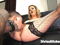 Cherry Torn is fed up with her husband Ruckus sneaking all over the house jerking his dick to...