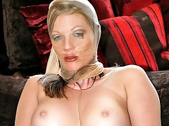 stocking layers encased and toyed