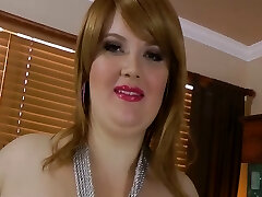 Sexy big super-sexy woman Red Hair