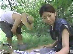 오래된 일본의 섹시한중년여성
