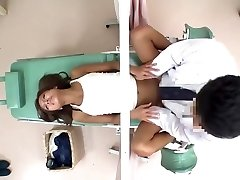JapWife gets her Gash Hammered by Gynecologist ch2