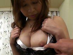 Ugly Japanese girlie Machiko Nishizaki dreams of getting poked