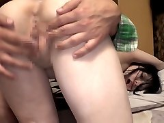 JAV bizarre CMNF fingering with shaved ghost Subtitled