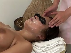 JAV full body bizarre cum facial massage medical center Subtitled