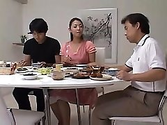 Japanese Wife Tear Up Guest