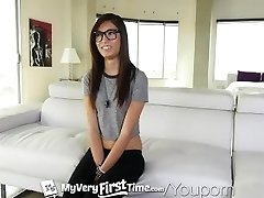 MyVeryFirstTime - Fear and pleasure for Kimberly Costa first assfuck
