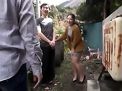 Japanese Teenage Night Outdoor Pussyfingering