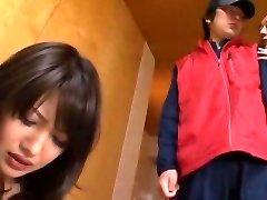Fabulous Japanese girl Mei Aso in Wild Wifey, Blowjob JAV scene