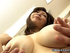 Sayuri Mikami in Giant boobed Sayuri Mikami porked instead of trying out clothes - AviDolz
