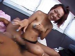 Mischievous Japanese model in Fabulous Public, Onanism JAV clip