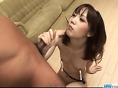 Sensual Ageha Kinashita craves to drink some jizz