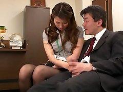 Nao Yoshizaki in Intercourse Slave Office Girl part 1.2