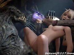 3D Devil tear up remix: Cradit Beowolf1117