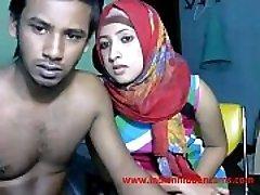 nygifta indiska srilankan par live på cam show