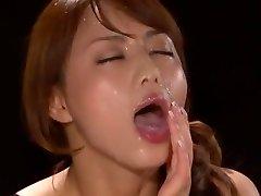 Amazing Japanese model Akiho Yoshizawa in Marvelous POV, Facial JAV vignette