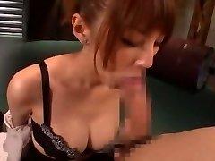 Horny Japanese damsel Tsubasa Amami in Amazing Handjobs, Blowjob JAV movie