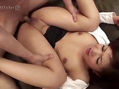 Shino Nakamura's Crevasses Nailed at Office (Uncensored JAV)