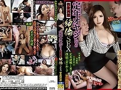 Best Japanese mega-slut Marina Aoyama in Crazy cuni, gangbang JAV video