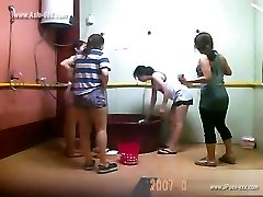 ###ping chinese girls bathing