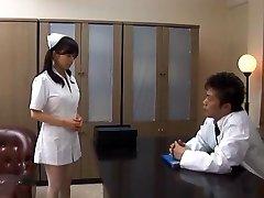 Doctor Has Hina Hanamis Tight Nurse Cunt To Fuck
