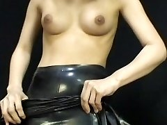 Japanese Latex Sundress 054