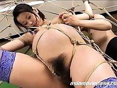 Bizarre Pregnant Fetish Restrain Bondage Fuck AV