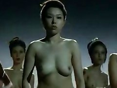 Naked China girls  fighting