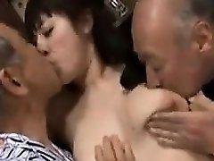 Sexig Japansk Steg Dotter