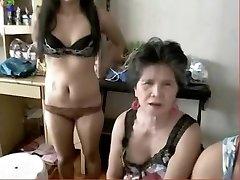 Loco Casero clip con Webcam, Japonés escenas