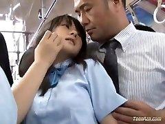 School girl torn up in bus