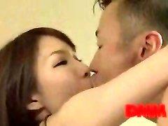 Maisaki Mikuni kiss and fuck sesh