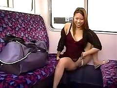 Pissing IN A TRAIN