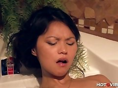 Asian Teen Underwater Ejaculations