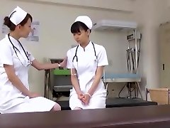 Exotic Japanese doll Akari Asakiri, Nachi Sakaki, Yuki Aoi in Amazing Nurse, Medical JAV flick