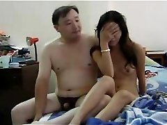Wonderful Asian chick with excellent body is getting moister with this pipe