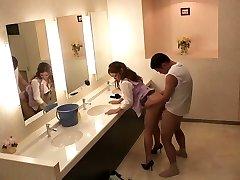 Hottest Japanese chicks Sho Nishino, Yumi Kazama in Amazing JAV censored Fingering, Big Boobies gig