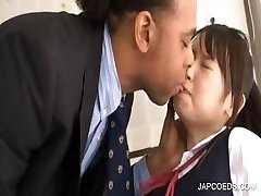 Asian schoolgirl gets cunny rubbed