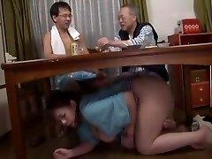 Impressive Japanese slut in Fabulous Blowjob, Fetish JAV clamp