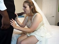 Codi Vore drilling the bride