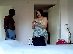 Asian Mature Wife Fucks Anal Sucks Big Black Cock Husband Calls Again