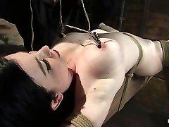 Sybil Hawthorne in Sybil Hawthorne: Retro Sweetheart Enjoys Pain To Get Off - Hogtied