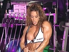 Best homemade Fetish, Muscular Gals porn episode