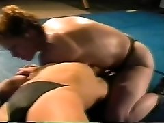 Hard-core girl-on-girl Sex Fight on Academy Wrestling