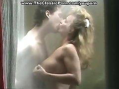 Erica Boyer plumbing in shower