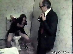 Fuckin' on the bathroom floor